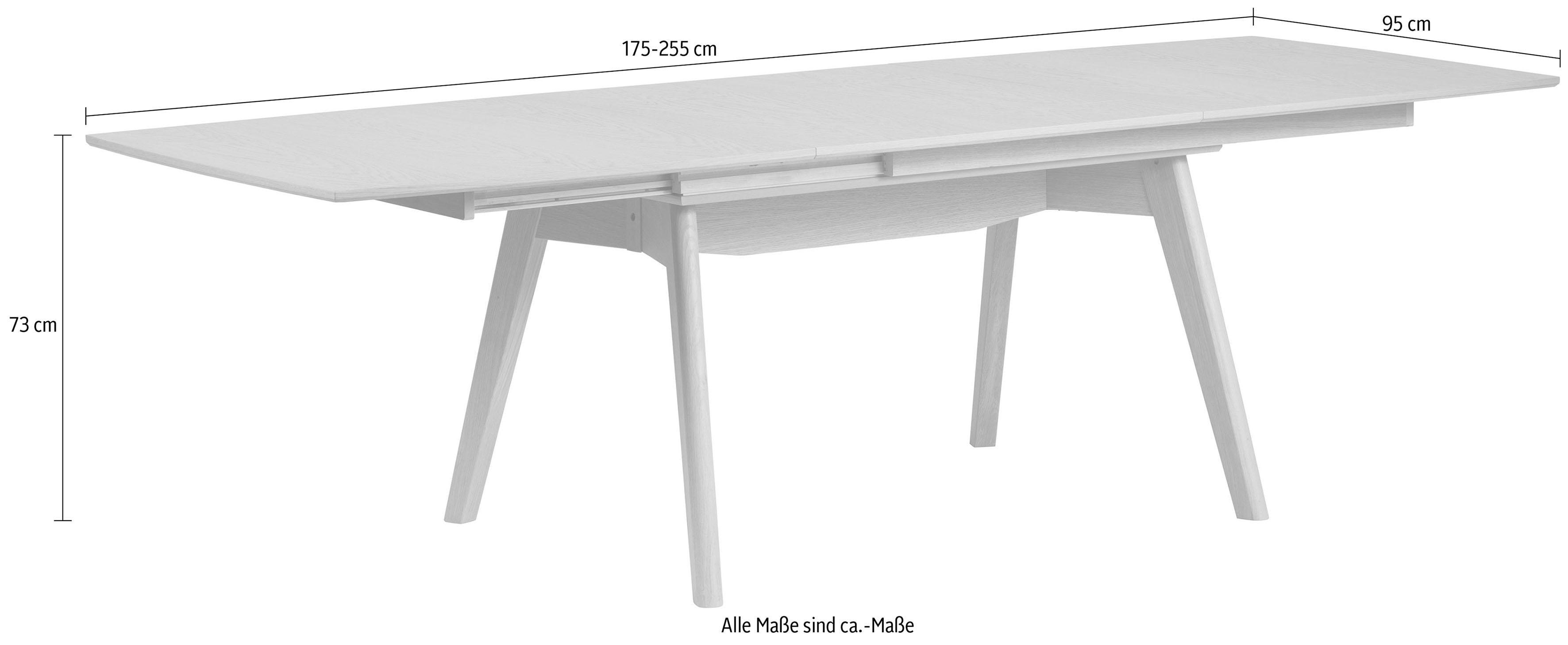 Stressless® Esszimmertisch »Toscana T100« inklusive Auszugsfunktion, in 3 Farben, Breite 175 cm