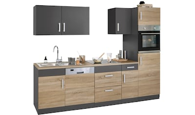 HELD MÖBEL Küchenzeile »Gera«, ohne E - Geräte, Breite 270 cm kaufen