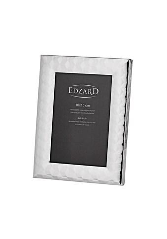 EDZARD Bilderrahmen »Fotorahmen Faenza für Foto 10 x 15 cm, edel versil«, 10x15 cm kaufen