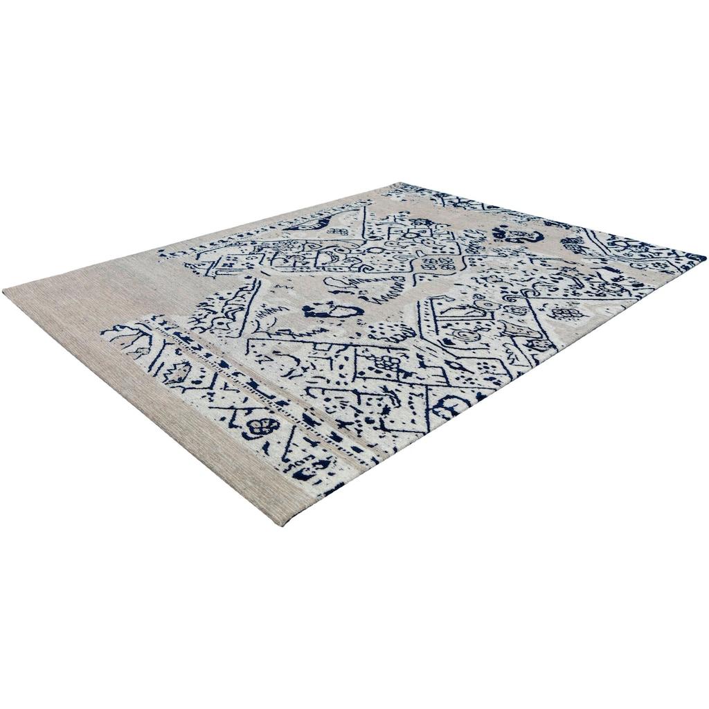andas Teppich »Percy«, rechteckig, 10 mm Höhe, vintage, Wohnzimmer