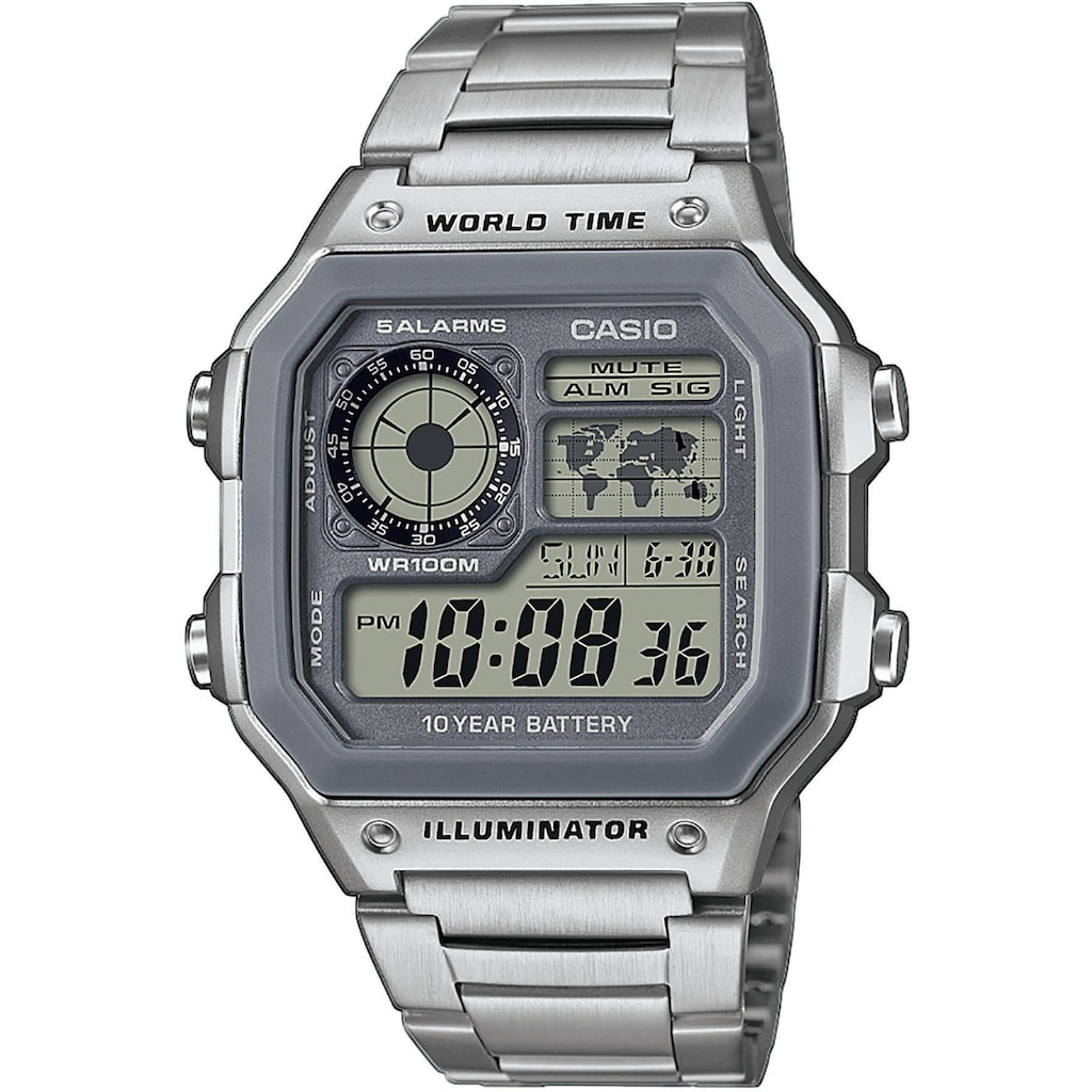Casio Collection Chronograph »AE-1200WHD-7AVEF«