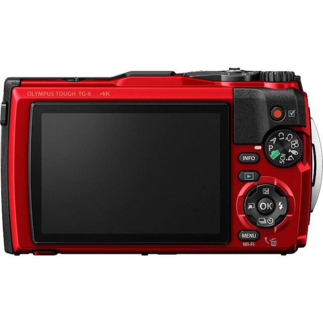 Olympus »Tough TG-6« Outdoor-Kamera (12 MP, 4x opt. Zoom, WLAN (Wi-Fi))