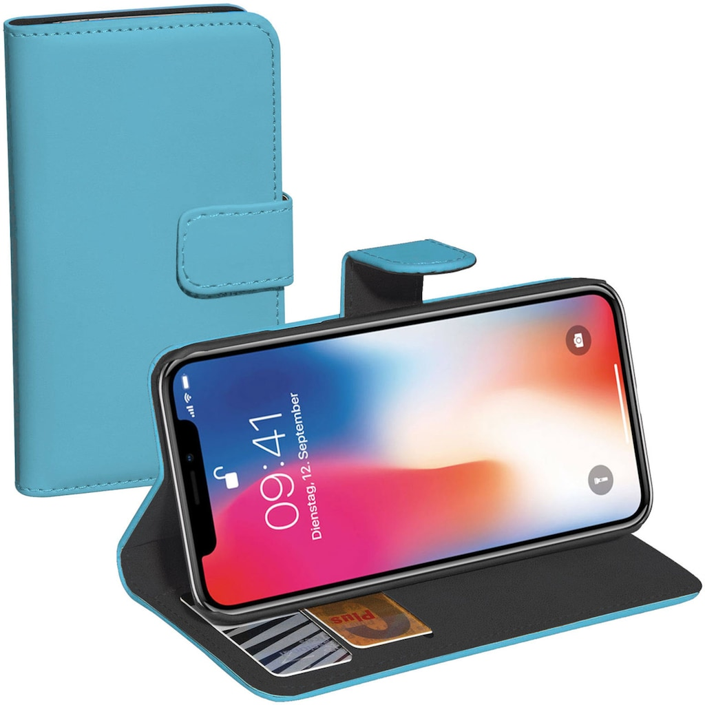 PEDEA Smartphone-Hülle »PEDEA Book Classic für Apple iPhone X«, Cover