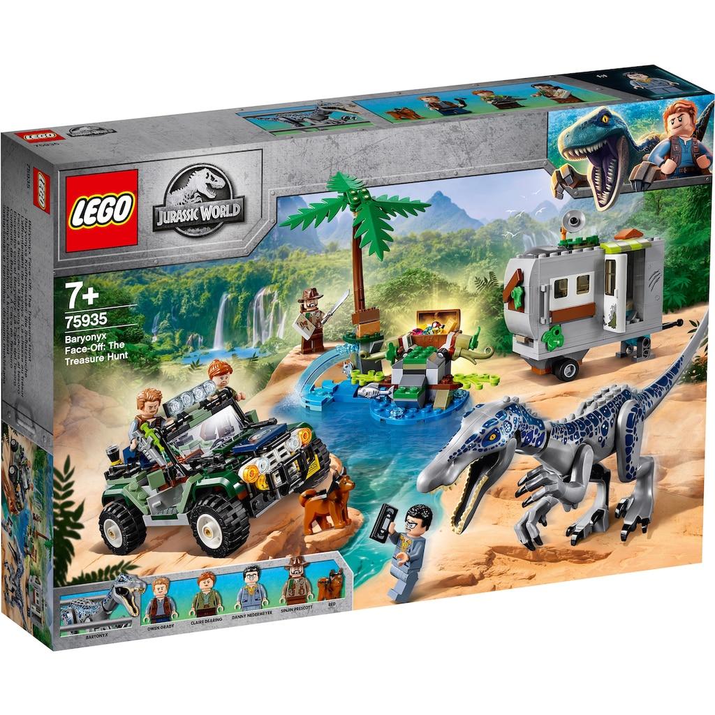 LEGO® Konstruktionsspielsteine »Baryonyxs Kräftemessen: die Schatzsuche (75935), LEGO® Jurassic World™«, (434 St.)