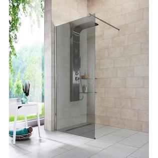 Walk-In Dusche »Duschabtrennung«, Breite 90 cm, Grauglas online bestellen |  BAUR