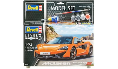 Revell® Modellbausatz »Model Set, McLaren 570S«, (Set), 1:24, Made in Europe kaufen