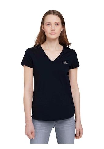 TOM TAILOR Denim T-Shirt, mit verspielter Stickerei kaufen