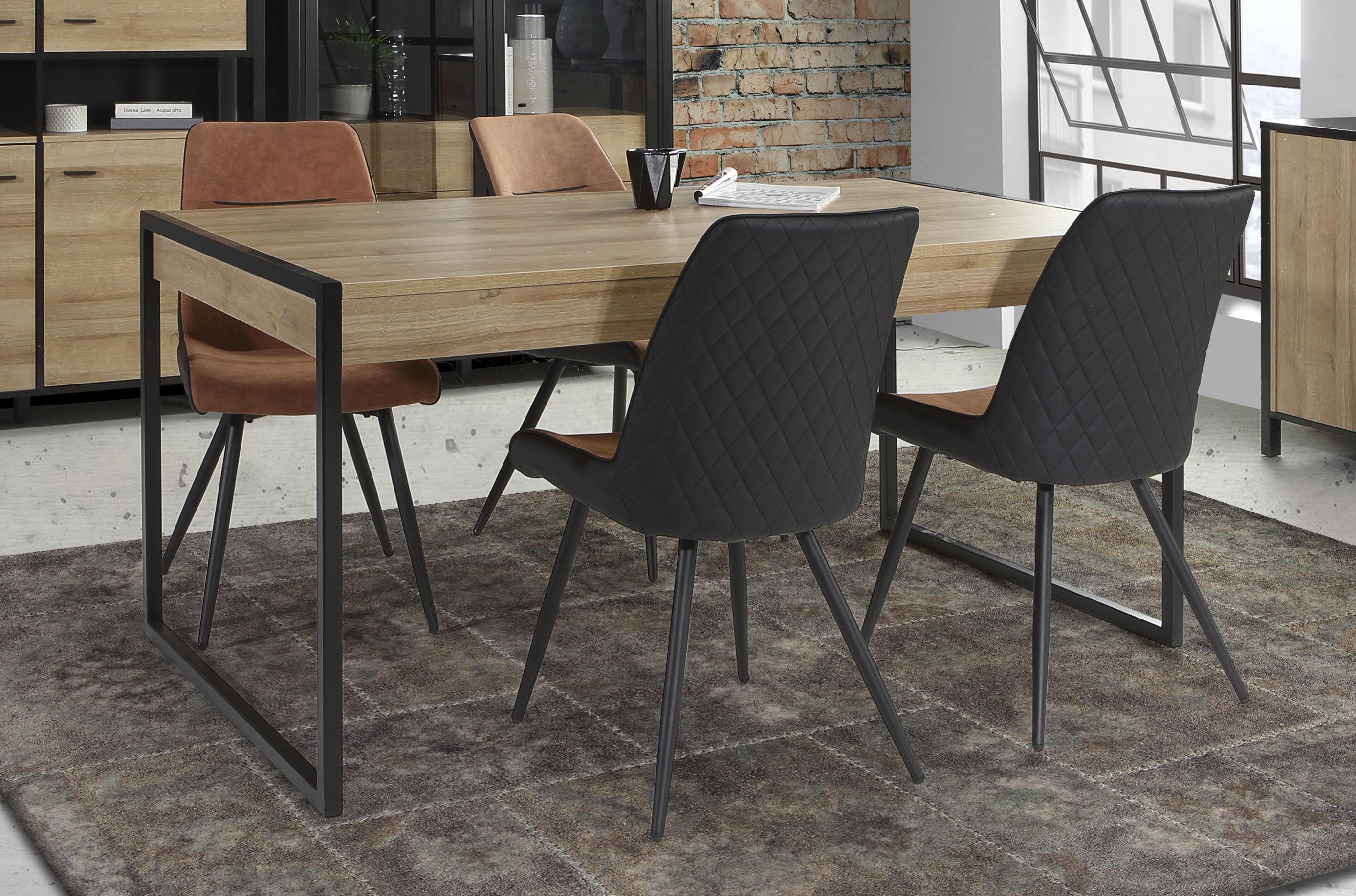 FORTE Esstisch, Breite 166 cm beige Esstisch Esstische rechteckig Tische