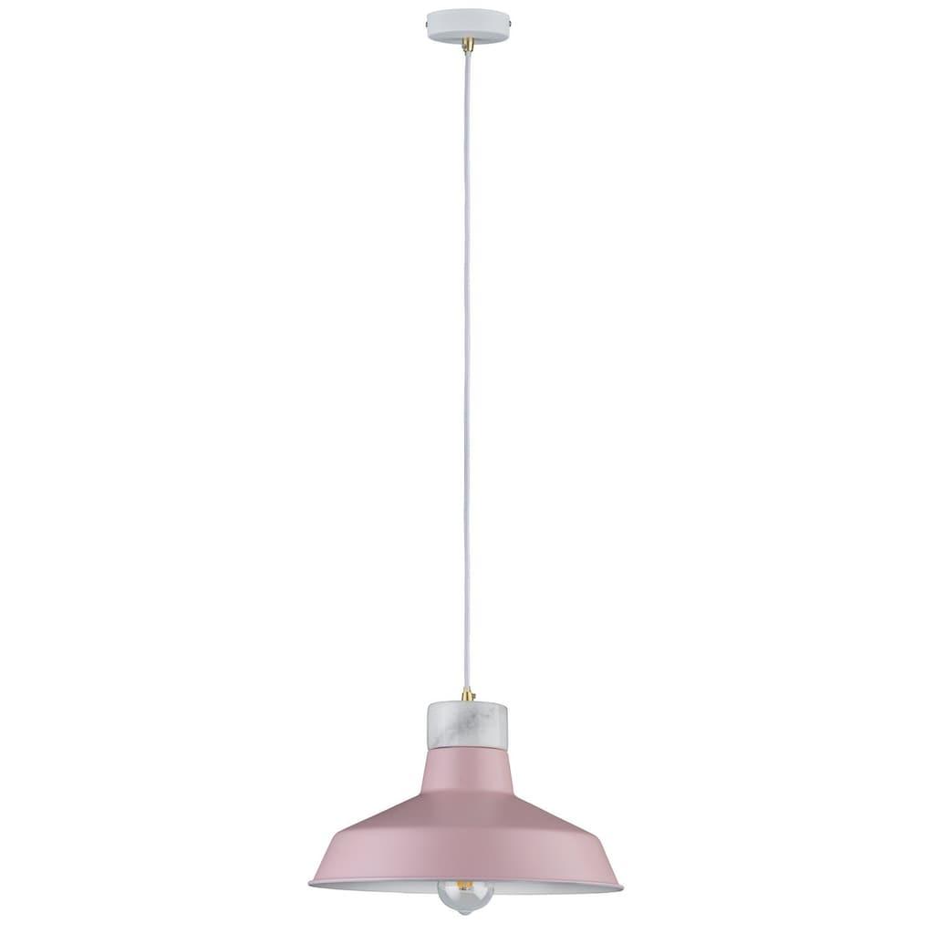 Paulmann LED Pendelleuchte »Neordic Disa Rosa/Weiß/Marmor«, E27, 1 St.