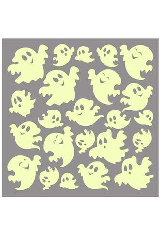 Wall - Art Wandtattoo »Leuchtsticker Witzige Geister« (1 Stück) kaufen