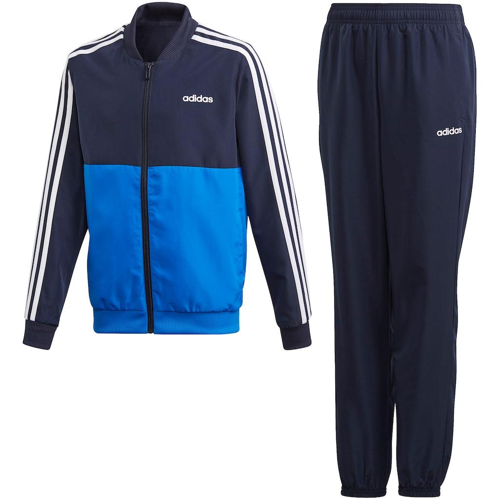 adidas Performance Trainingsanzug »YOUTH BOY TRACKSUIT WOVEN«, (Set, 2 tlg.)