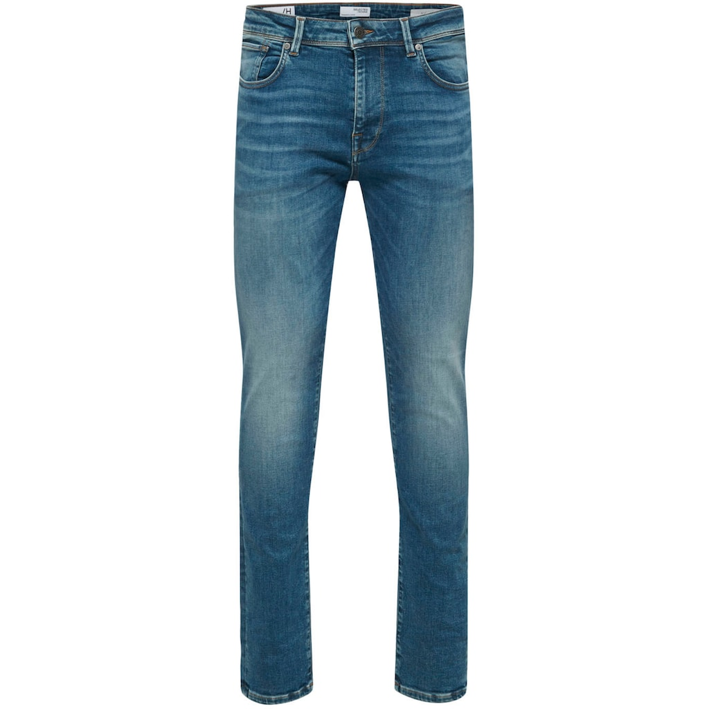 SELECTED HOMME Slim-fit-Jeans »LEON«
