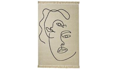 Teppich Faces mit Gesichter- Motiv kaufen