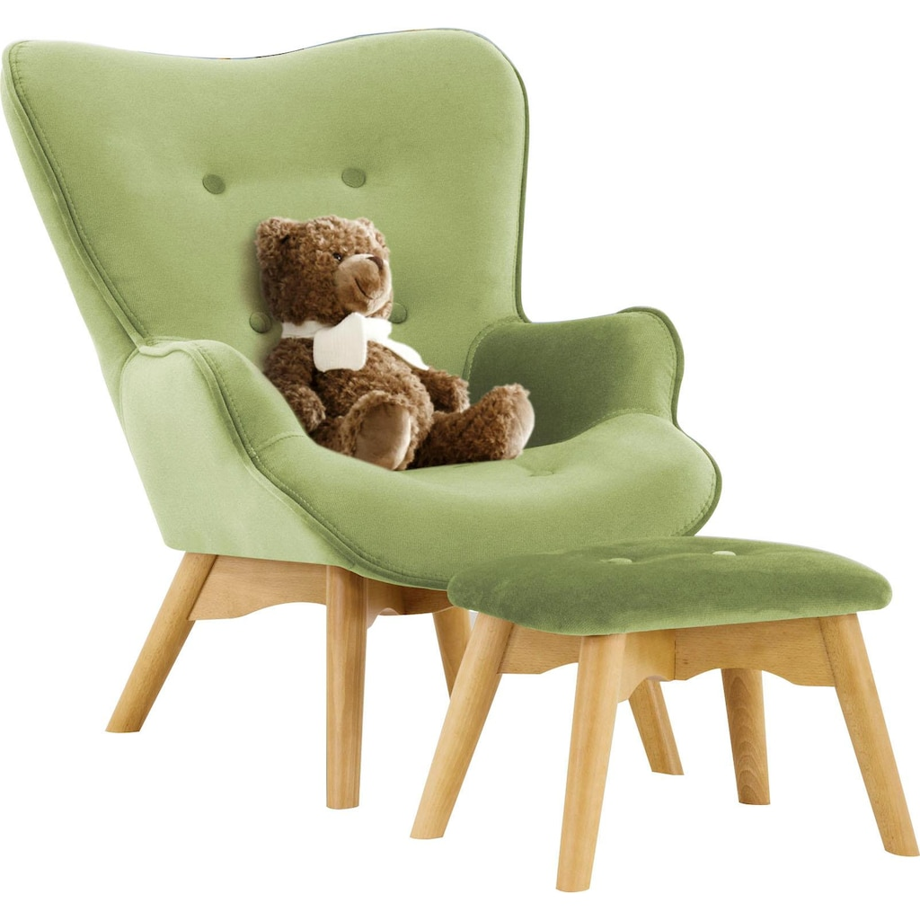 Lüttenhütt Sessel »Duca Mini«, in kleiner Ausführung für Kinder