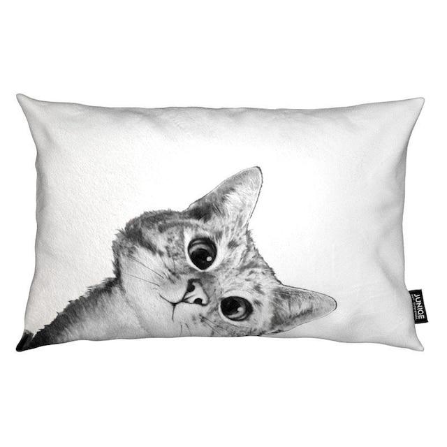 Dekokissen, »Sneaky Cat«, Juniqe