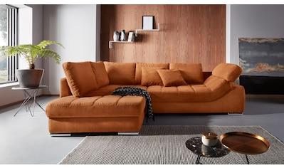 Places of Style Ecksofa »Stacy«, Ottomane wahlweise links oder rechts montierbar, incl. Kopfteilverstellung kaufen