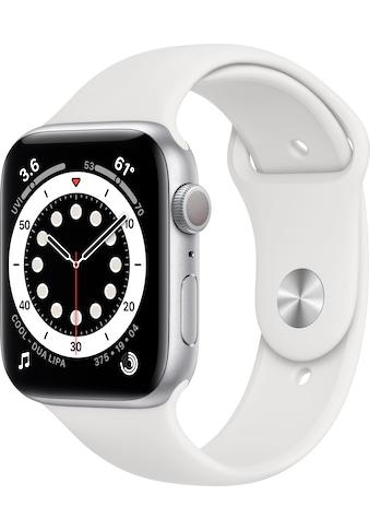Apple Watch »Series 6 GPS, Aluminiumgehäuse mit Sport 40mm« (, Watch OS 6, inkl. Ladestation (magnetisches Ladekabel) kaufen