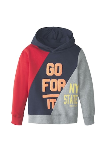 TOM TAILOR Sweatshirt »Hoodie mit Colorblocking« kaufen