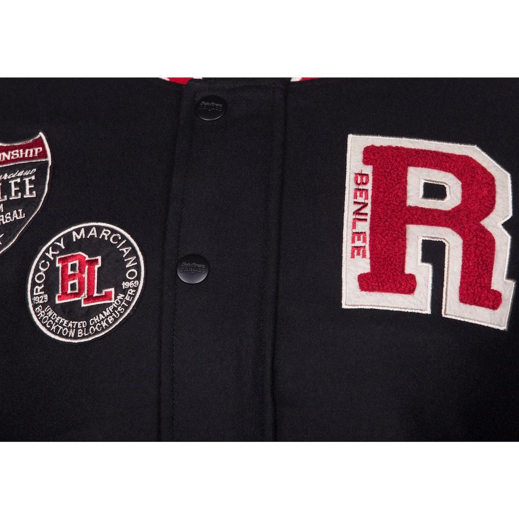 Benlee Rocky Marciano Jacke in sportlichem Design