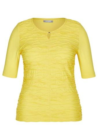 Rabe Kurzarmshirt, mit unifarbenem Stoff und halblangen Ärmel kaufen