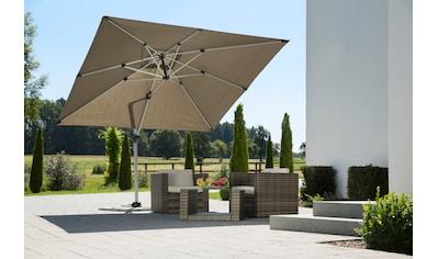 Schneider Schirme Ampelschirm »Monaco«, mit Schutzhülle und Schirmständer, ohne... kaufen
