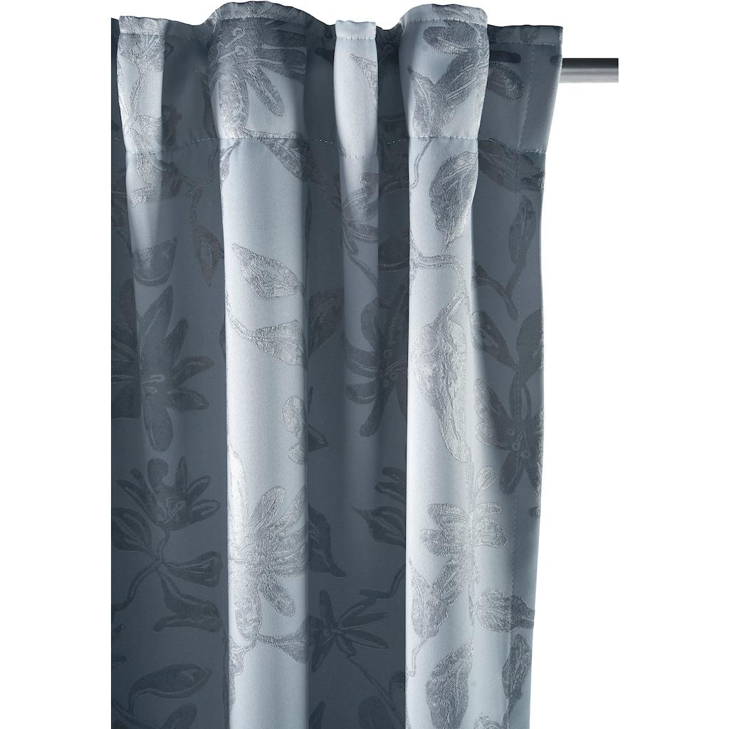 Guido Maria Kretschmer Home&Living Verdunkelungsvorhang »Gaspar«, blickdicht, gewebt, Jacquard mit floralem Muster
