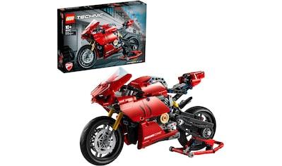 LEGO® Konstruktionsspielsteine »Ducati Panigale V4 R (42107), LEGO® Technic«, (646 St.), Made in Europe kaufen