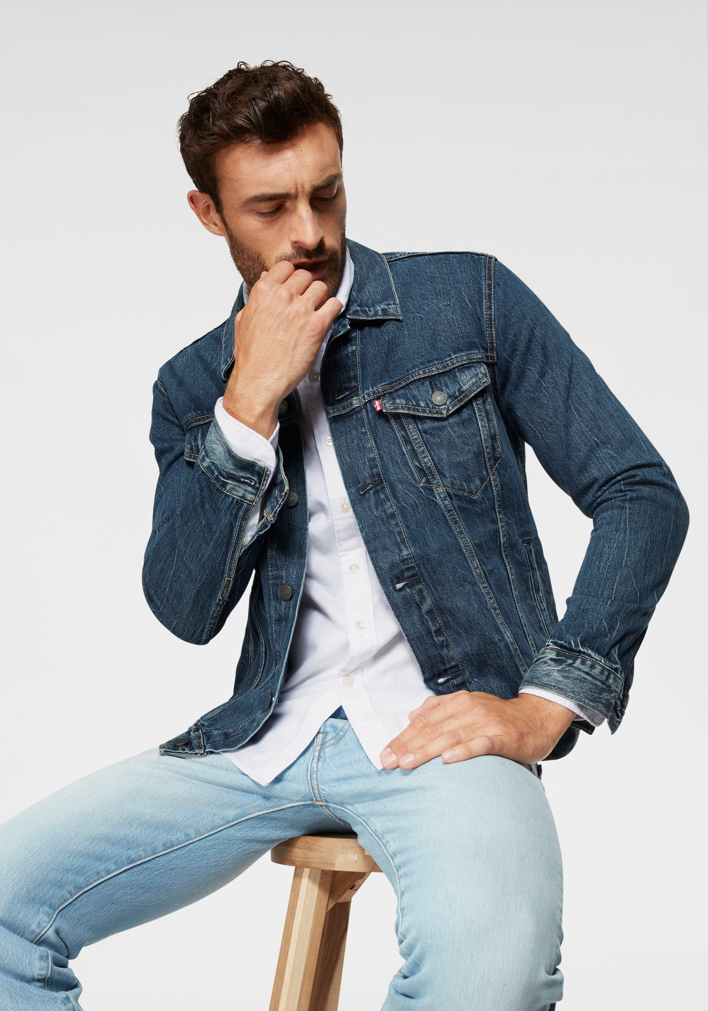 Levi´s Jeansjacke   Bekleidung > Jacken > Jeansjacken   Blau   Levi´s