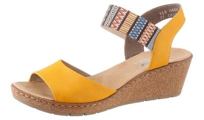 Rieker Sandalette, mit Gummizug-Riemchen kaufen