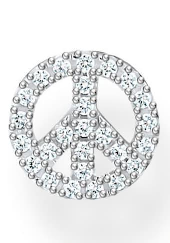 THOMAS SABO Single-Ohrstecker »Peace silber, Peace gold, H2218-051-14, H2218-414-14«,... kaufen