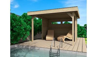 Wolff Holzpavillon »Elba«, (Set), BxT: 350x352 cm kaufen