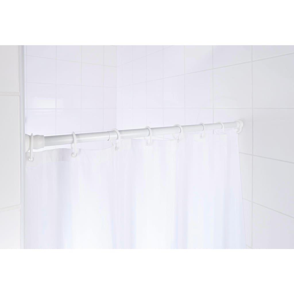 Ridder Federstange »Wien«, ausziehbar, für Duschvorhänge, Durchmesser 25 mm ca. 70-115 cm