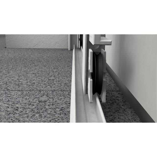 HECHT Insektenschutz-Tür »COMFORT«, weiß/anthrazit, BxH: 240x240 cm