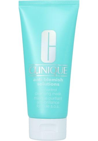 CLINIQUE Gesichts-Reinigungsmaske »Anti-Blemish Solutions Cleansing Mask« kaufen