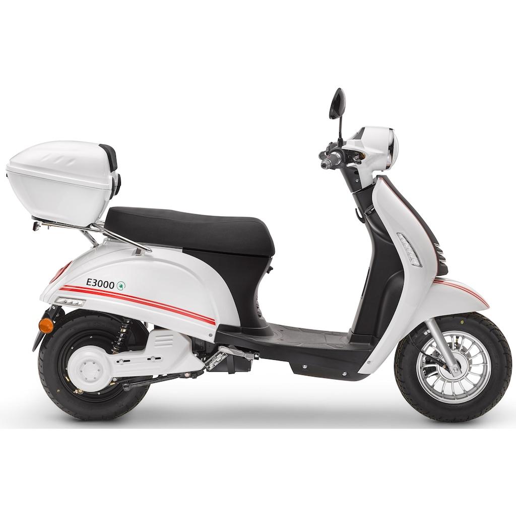 Luxxon E-Mofaroller »E 3000«, 3000 W, 25 km/h, 65 km, 4,1 PS