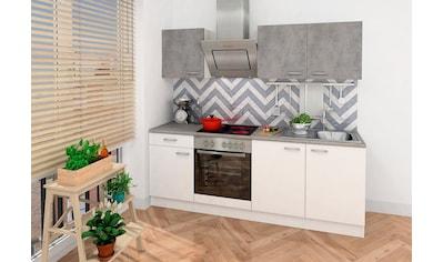 RESPEKTA Küchenzeile, mit E-Geräten, Breite 210 cm kaufen