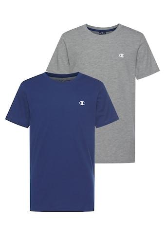 Champion T-Shirt »2 PACK CREW-NECK TEE« kaufen