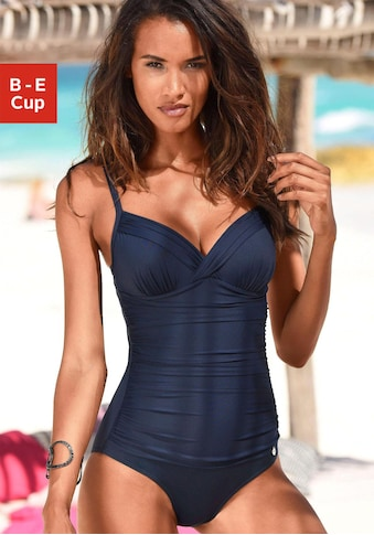LASCANA Badeanzug »Sienna«, mit eleganten Raffungen kaufen