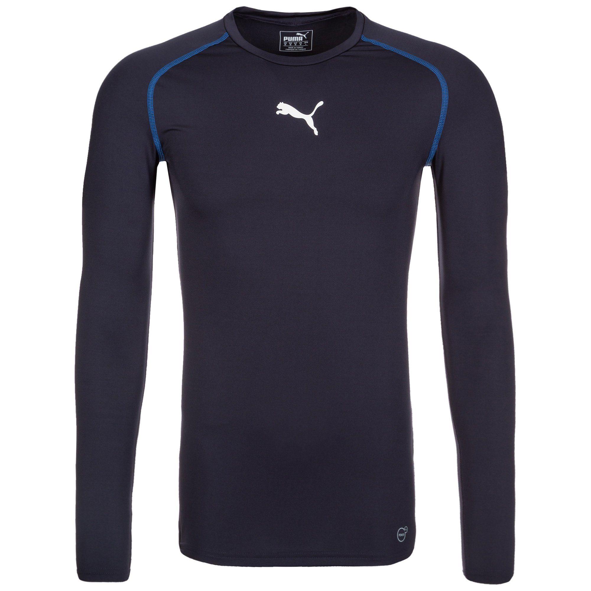 PUMA TB Trainingsshirt Herren | Sportbekleidung > Sportshirts > Funktionsshirts | Blau | Polyester - Elasthan | Puma