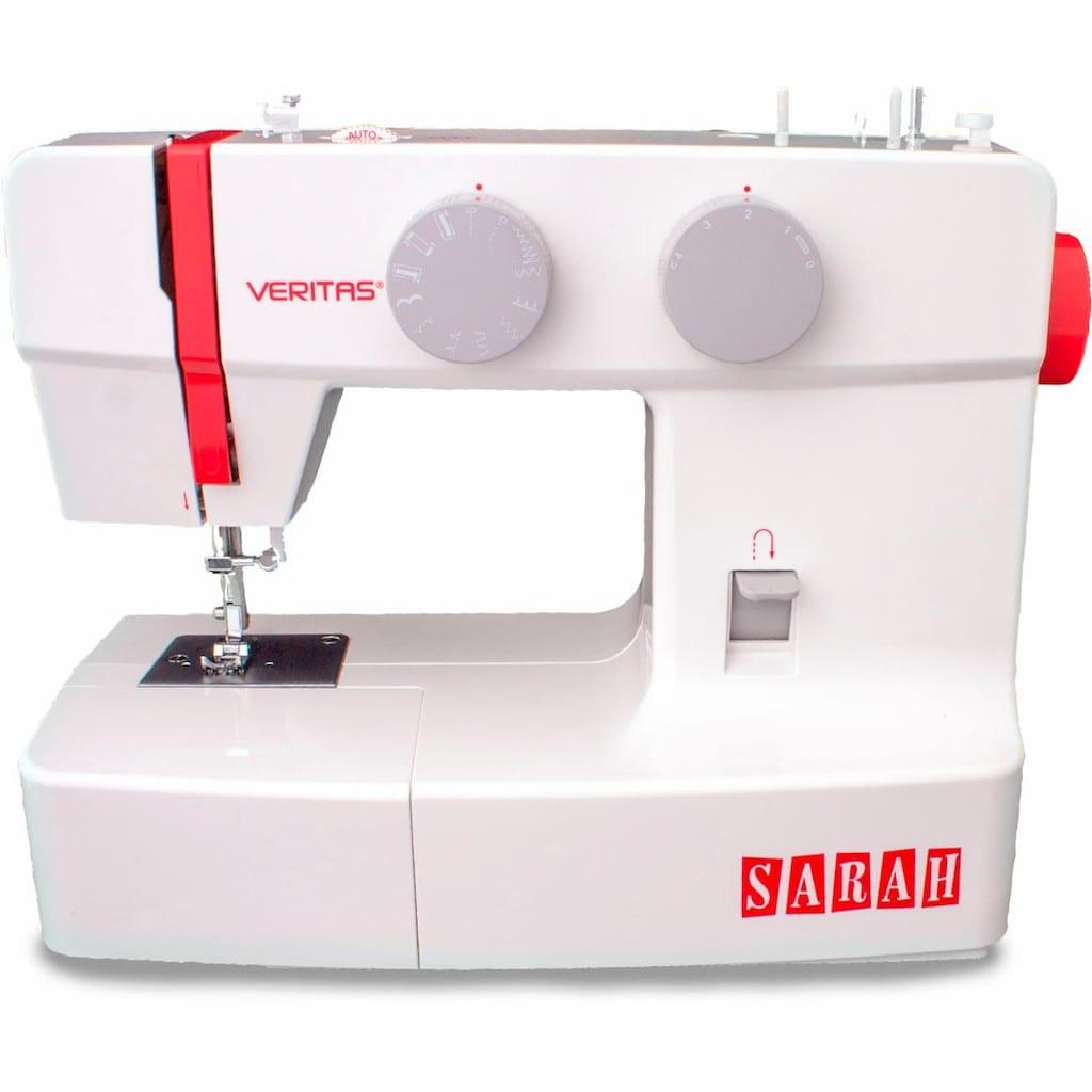 Veritas Nähmaschine »Sarah«, 13 Programme, 4-Stufen-Knopflochautomatik