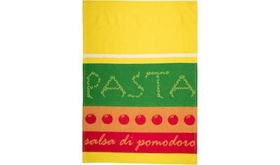 "stuco Geschirrtuch ""Pomodoro  -  Jacquard"" (Set, 3 - tlg.) kaufen"