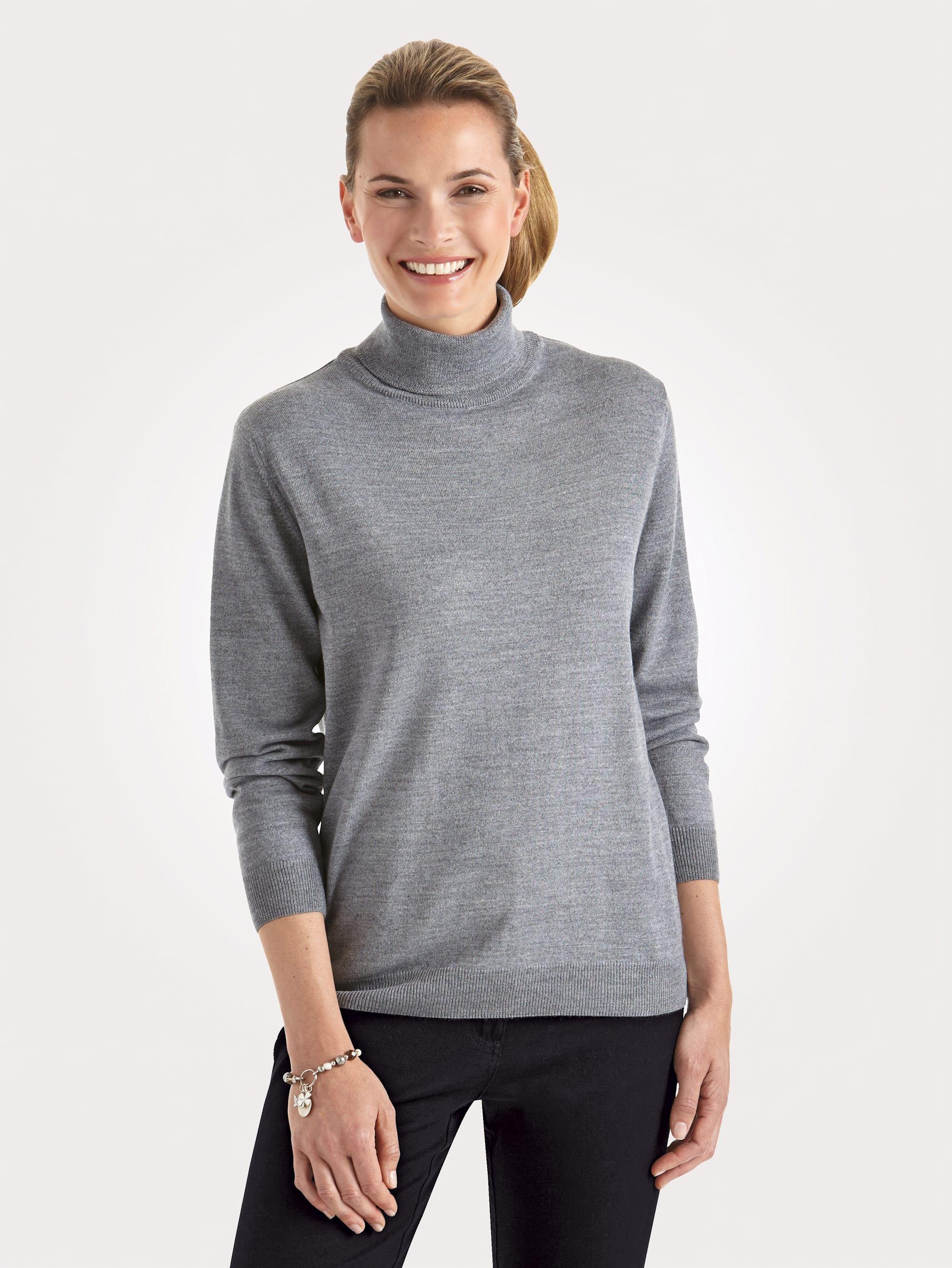 Mona Rollkragen-Pullover mit Merino-Schurwolle | Bekleidung > Pullover > Rollkragenpullover | Mona
