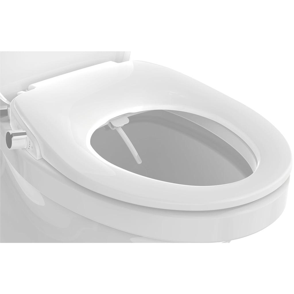 Eisl Dusch-WC-Sitz, mit Absenkautomatik, Schnellverschluss und Bidet-Funktion