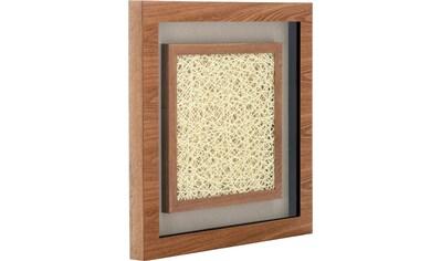 Kayoom Wandbild »Holzkunst Carré III« kaufen