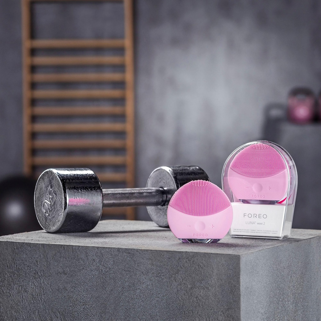FOREO Elektrische Gesichtsreinigungsbürste »LUNA mini 2«