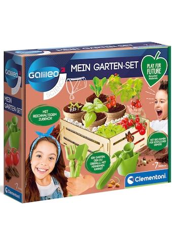 Clementoni® Experimentierkasten »Galileo Mein Garten-Set«, Made in Europe kaufen