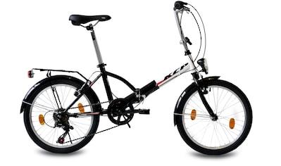 KCP Faltrad »Foldo Stahl«, 6 Gang Shimano Tourney RD - TZ500 - GS Schaltwerk, Kettenschaltung (1 - tlg.) kaufen