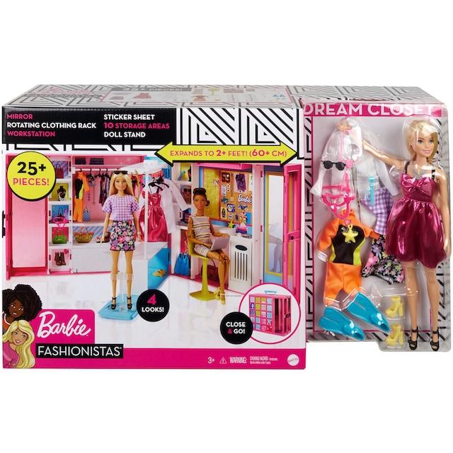 """Mattel® Puppenkleiderschrank """"Barbie Fashionistas Traum Kleiderschrank"""""""