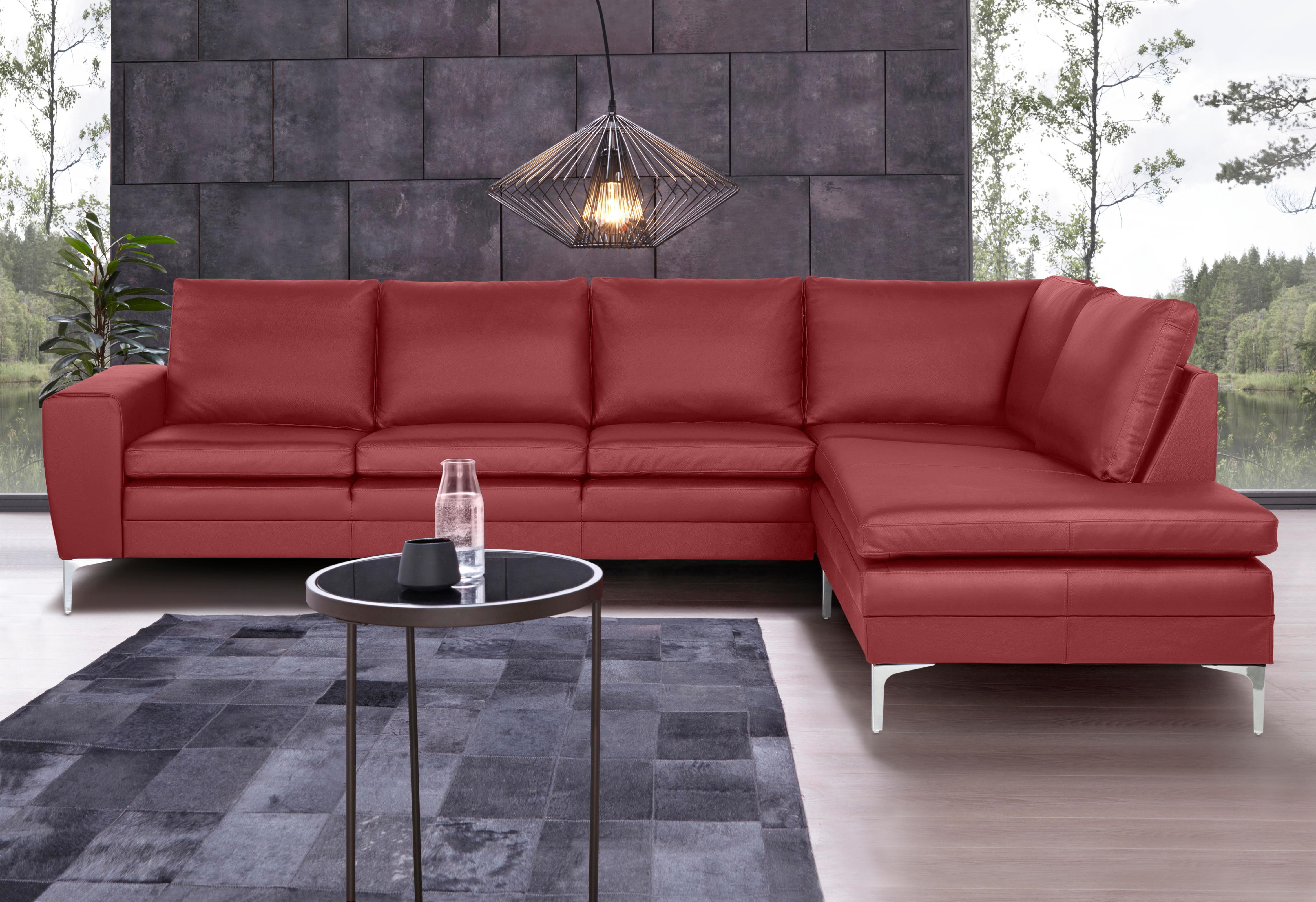 Places of Style Ecksofa Twigo in Echleder mit hohem Sitzkomfort