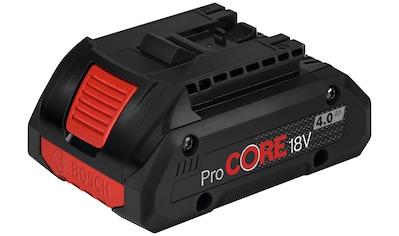 BOSCH Akkupacks »ProCORE 18V 4.0Ah Professional «, 18 V, 4 Ah, mit Karton kaufen